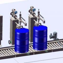 200灌装机在不饱和聚酯树脂行业应用